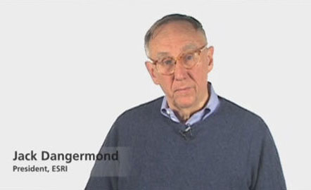 Jack Dangermond describes what users can find and do at ArcGIS.com.