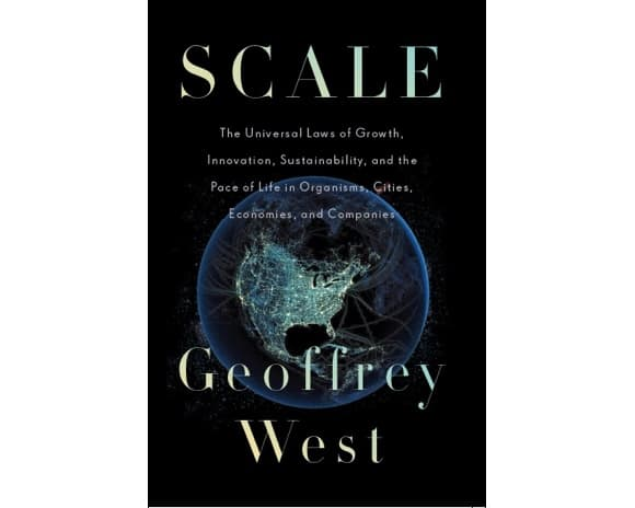 Cover of West's book Scale