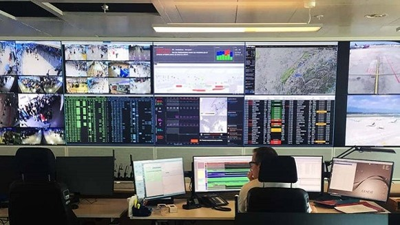 Real time operations dashboard at Geneva Airport