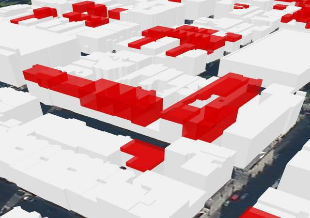 London 3D Rooftops