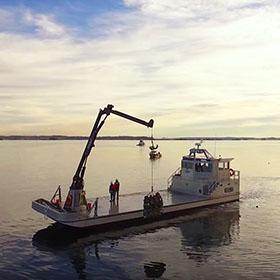 Boat on Puget Sound
