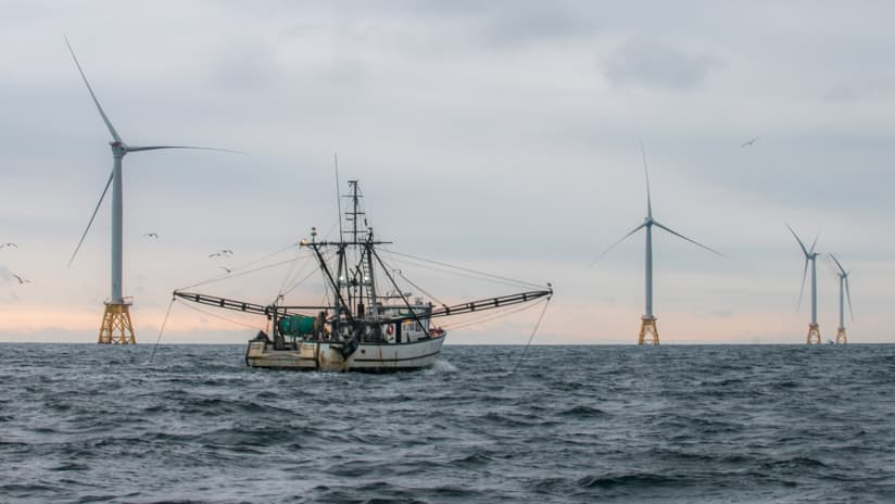 Block Island Wind Farm Trawler