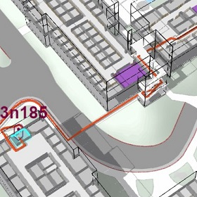 3D maps help employees navigate the smart campus