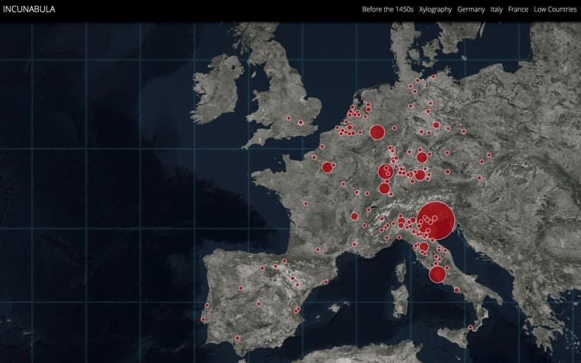 Incunabula story map