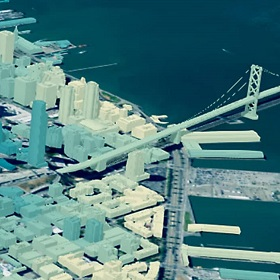 Modeling city growth with 3D technology and GIS