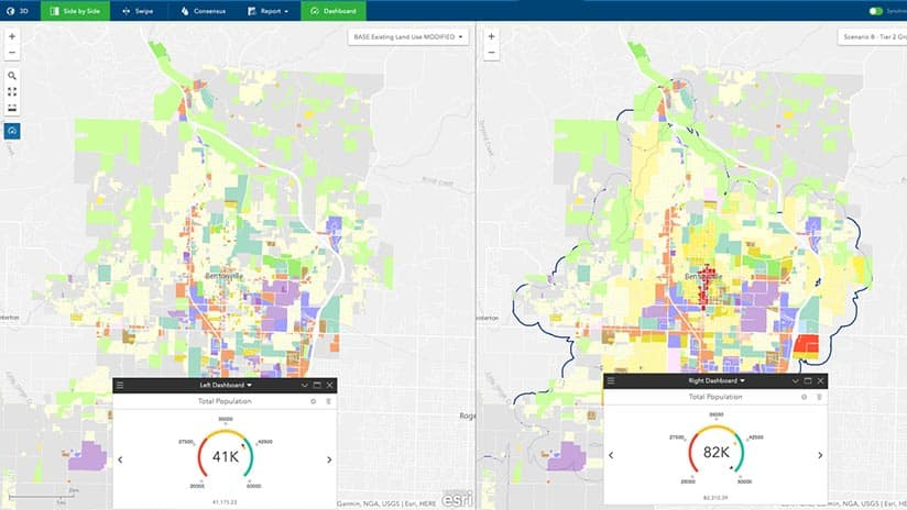 As cities grow, GIS helps officials see how demographics will change