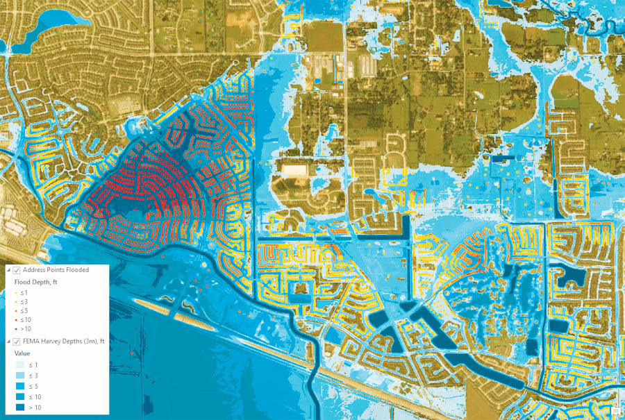 A New Approach to Flood Mapping