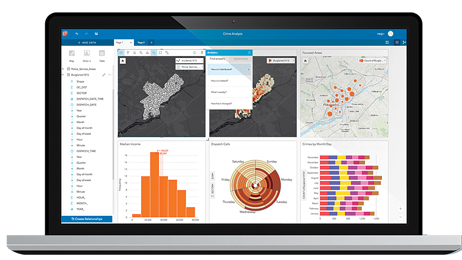 Insights for ArcGIS is now available in ArcGIS Online.