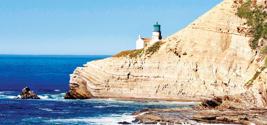 Point Conception's famous lighthouse. (Image courtesy of The Nature Conservancy.)