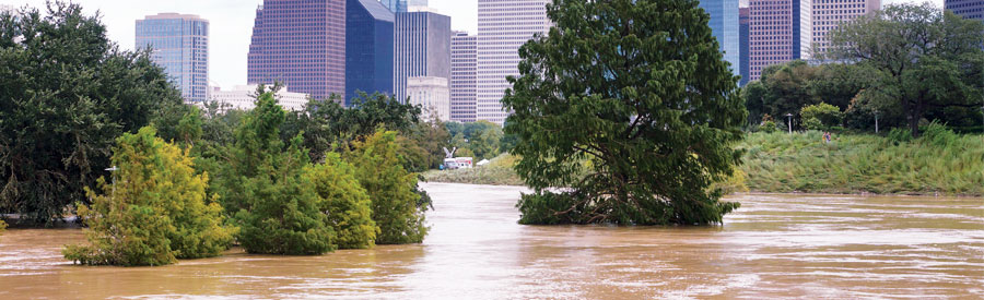 In August 2017, Hurricane Harvey deluged areas in and around Houston, Texas.