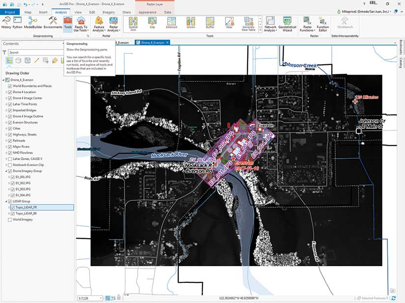 Mapping and Modeling Lidar Data with ArcGIS Pro