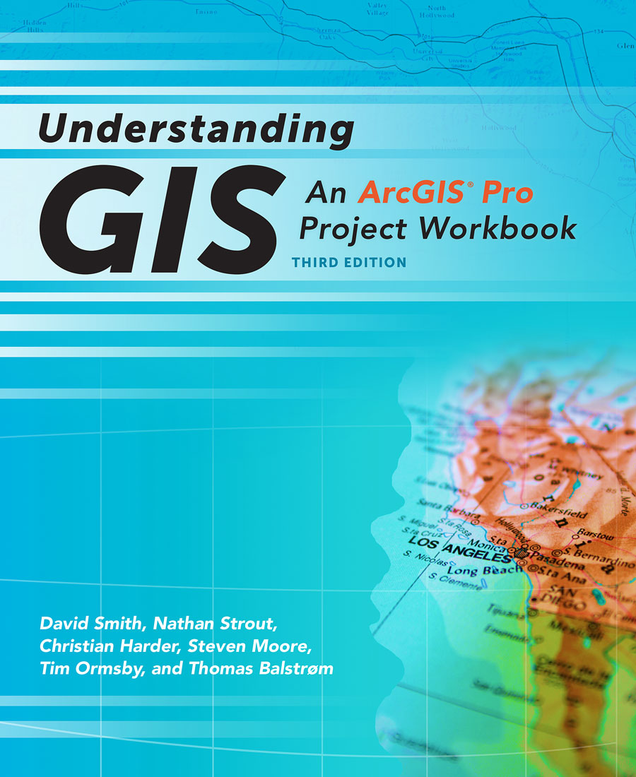 Understanding GIS: An ArcGIS Pro Project Workbook will teach you how to use ArcGIS Pro software to analyze data to select the most suitable site for a public park.