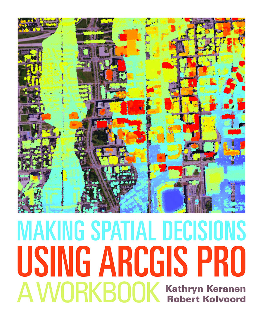 People who use Making Spatial Decisions Using ArcGIS Pro: A Workbook get the opportunity to work on 18 projects.