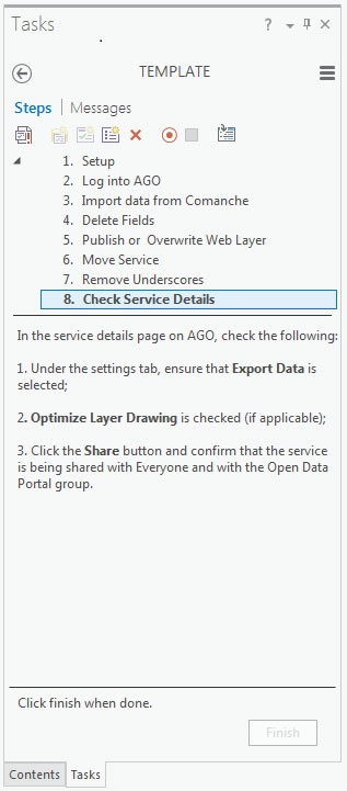 The ArcGIS Pro workflow makes updating services very easy.
