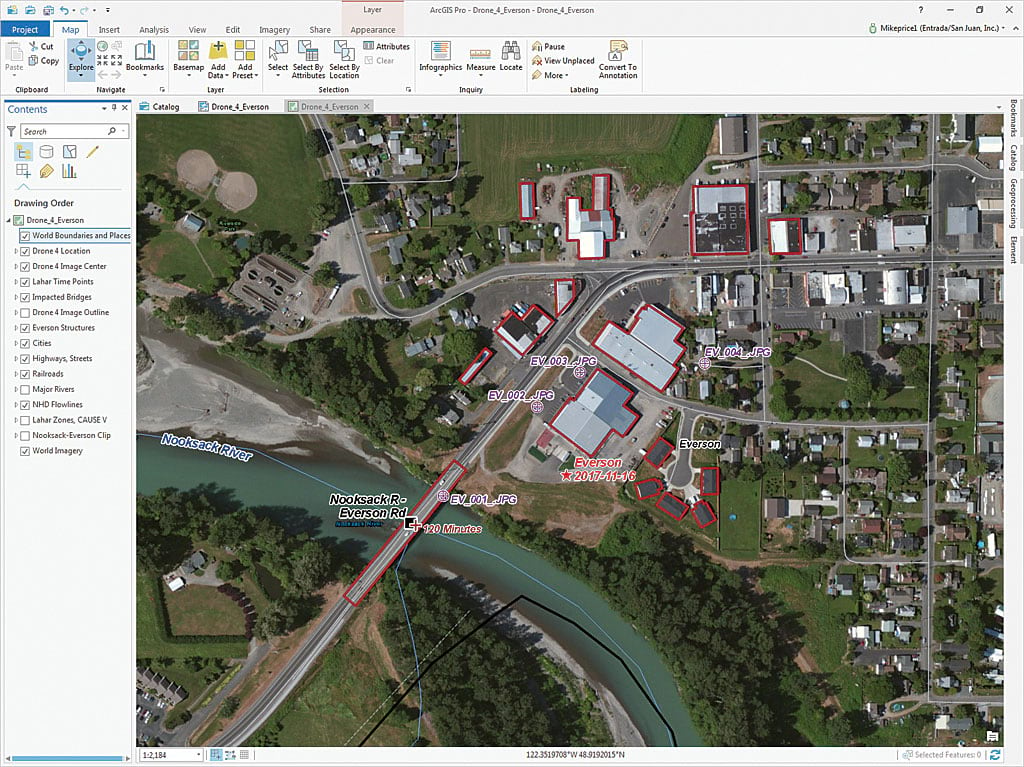Georeferencing Drone-Captured Imagery
