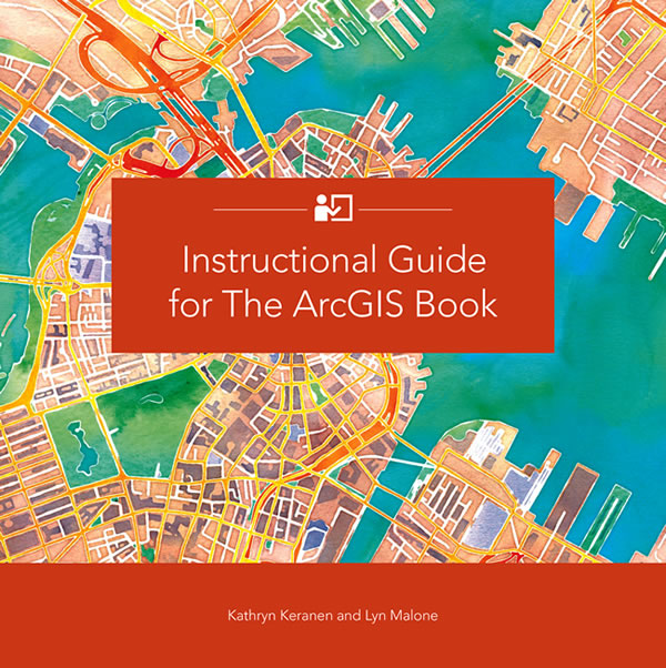 Instructional Guide for The ArcGIS Book won an award at this summer's National Conference on Geography Education.