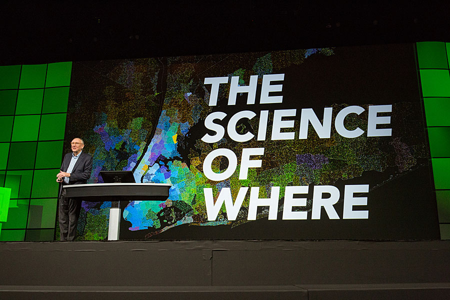 "Esri president Jack Dangermond called GIS a ""metascience."""