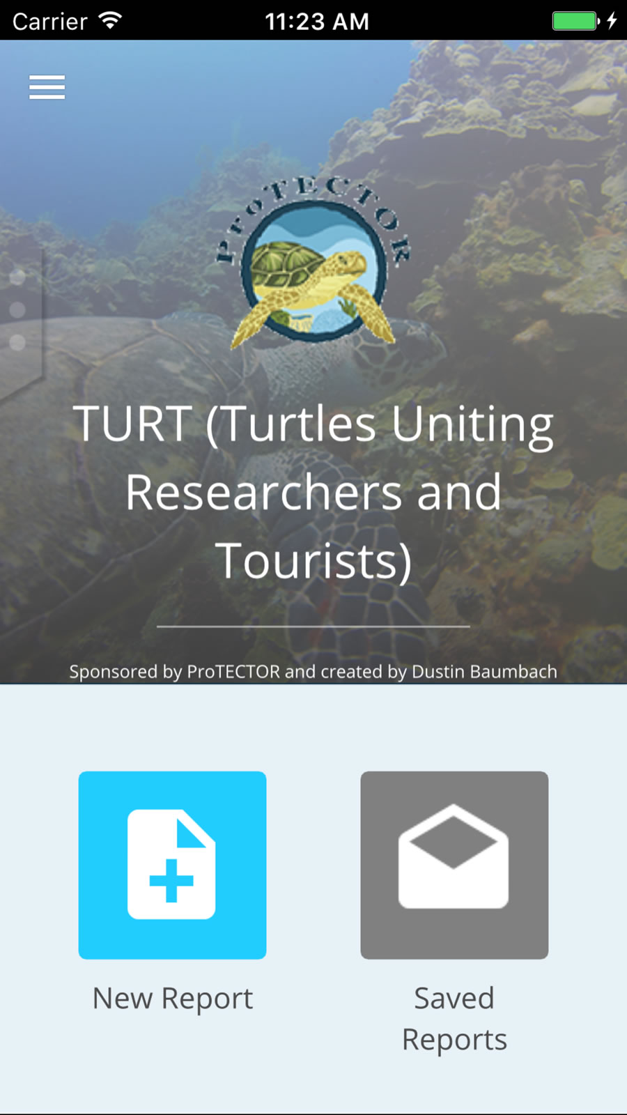 Loma Linda University PhD student and researcher Dustin Baumbach used AppStudio for ArcGIS to build TURT.