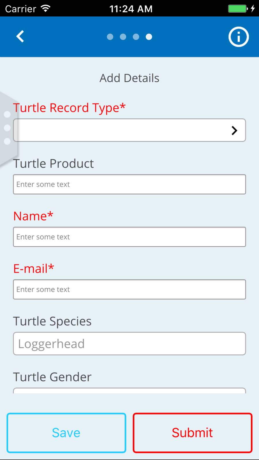 Once information is uploaded to the TURT app, it is automatically and instantaneously inserted into a global sea turtle database.