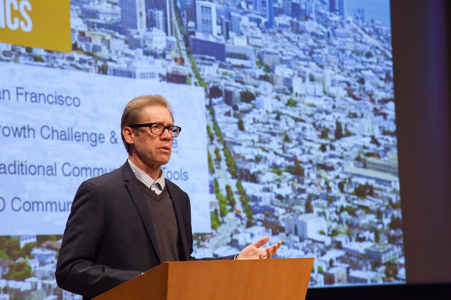Scott T. Edmondson, a planner-economist for the San Francisco Planning Department, says 3D GIS is a powerful visual tool to communicate data.