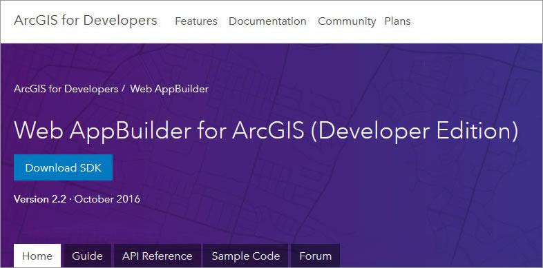 Configure Web AppBuilder for ArcGIS Developer Edition