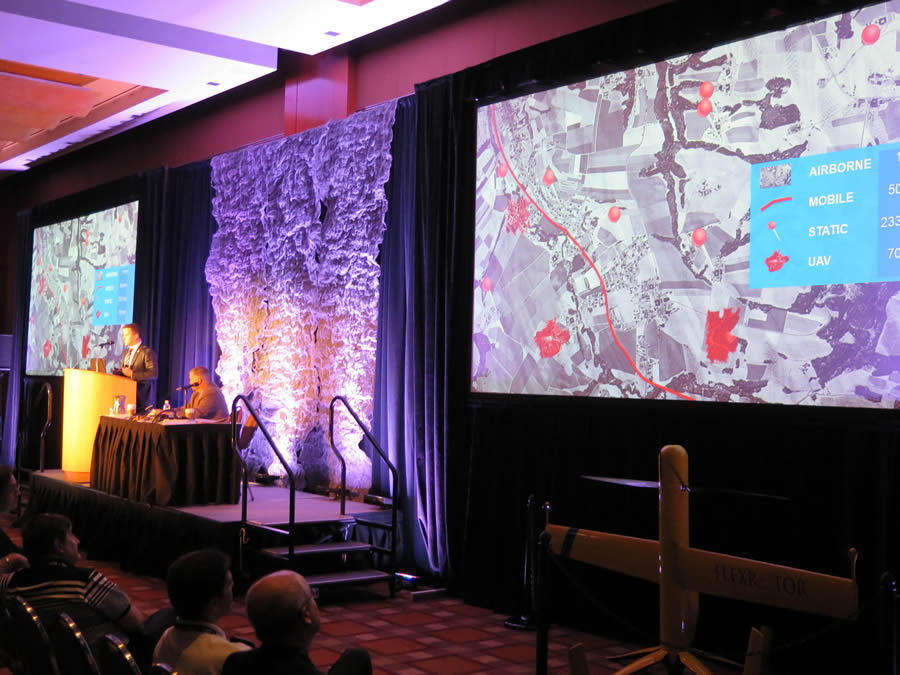 The forum presentations will update you on the latest imagery and mapping technology trends.