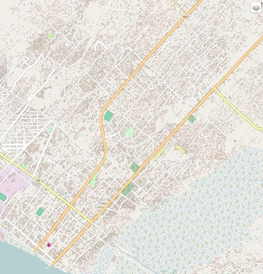 The students added buildings and roads to the map of Quelimane. The USAID GeoCenter and the USAID Africa Indoor Residual Spraying (AIRS) teams are now discussing plans to integrate the data into the insecticide spray campaign for 2016. Credit: © OpenStreetMap contributors
