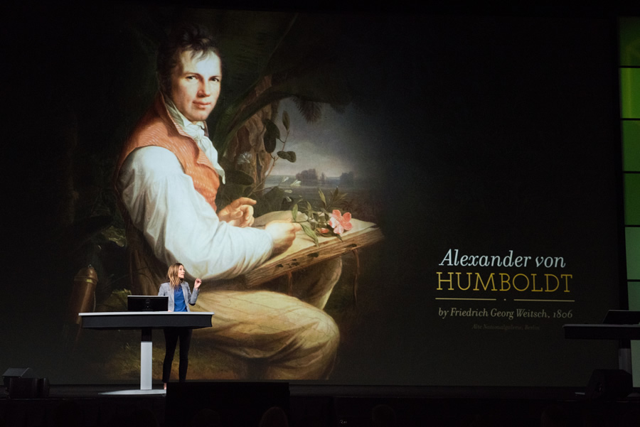 "Author and historian Andrea Wulf said she was quite sure Alexander von Humboldt ""would have loved GIS."""