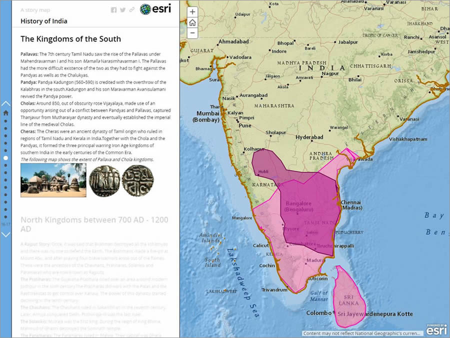 Mahika mapped the Chola Empire.