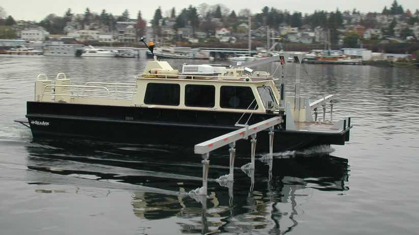 Mini Sweep survey vessel