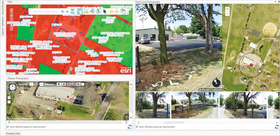 Having a street-level vantage point from which to verify appraisal data ensures that Erie County's property assessments are accurate and up-to-date.