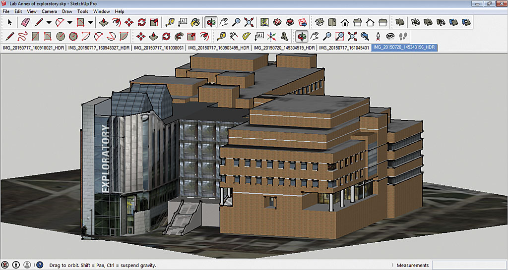Creating a 3D Campus Scene Using Esri CityEngine