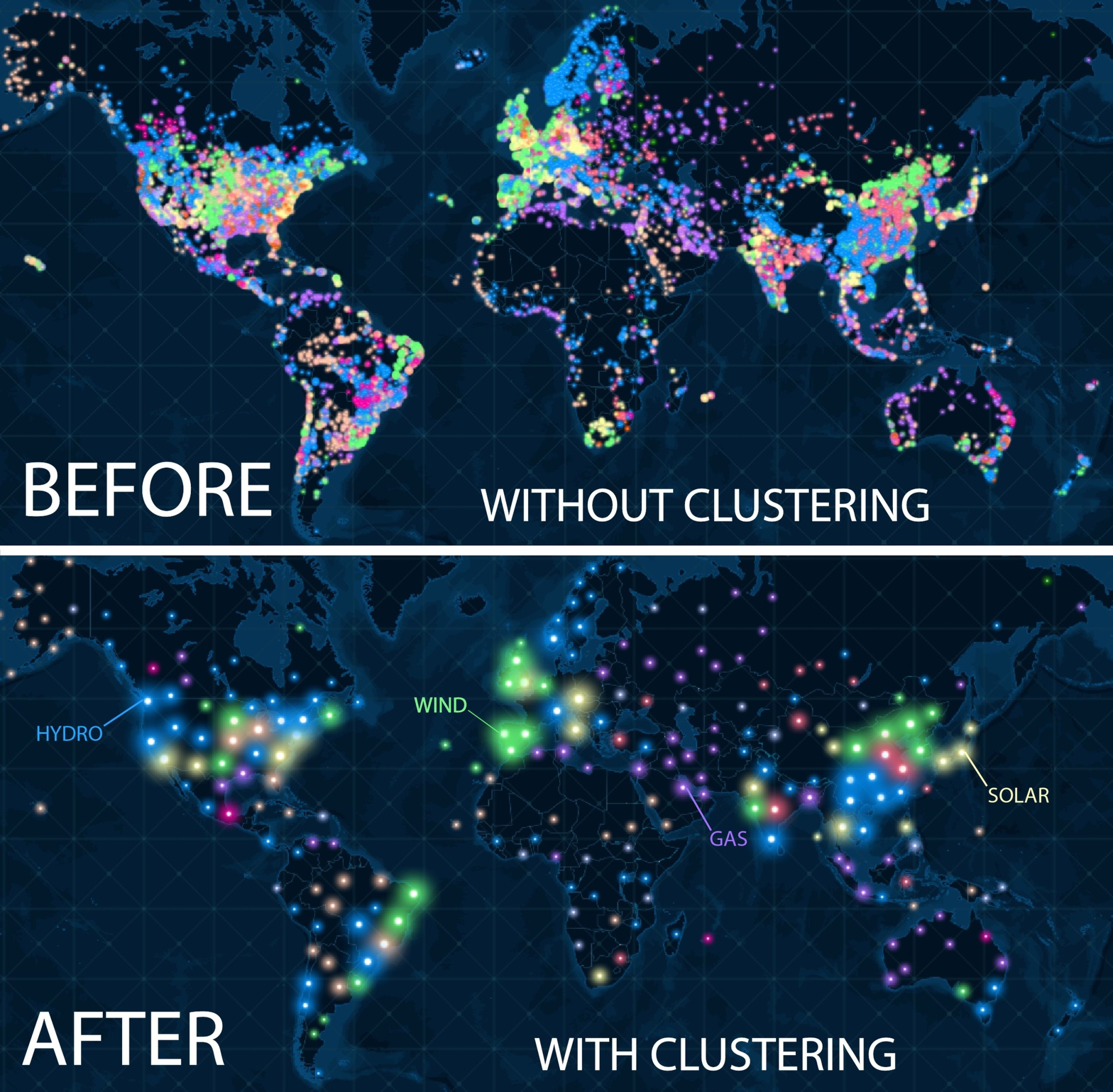 Learn to Use Clustering in ArcGIS Online