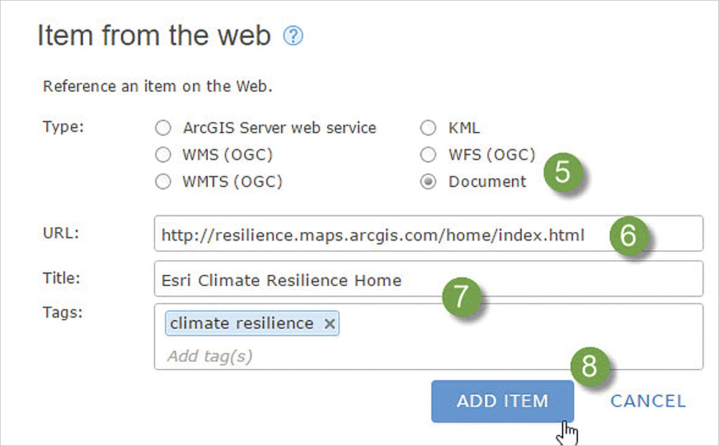 Make Your ArcGIS Online Home Page Discoverable