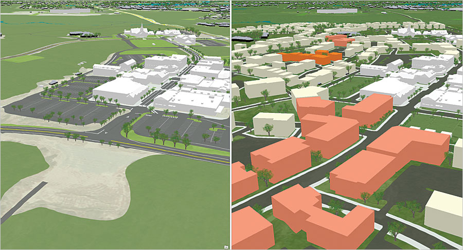 With Bergmann Associates' assistance, the Cape Cod Commission (CCC) was able to use ArcGIS Online to compare existing and proposed development side by side.