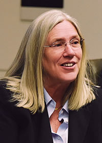 Sue Gordon. (Photo courtesy of Erica Knight, National Geospatial-Intelligence Agency.)
