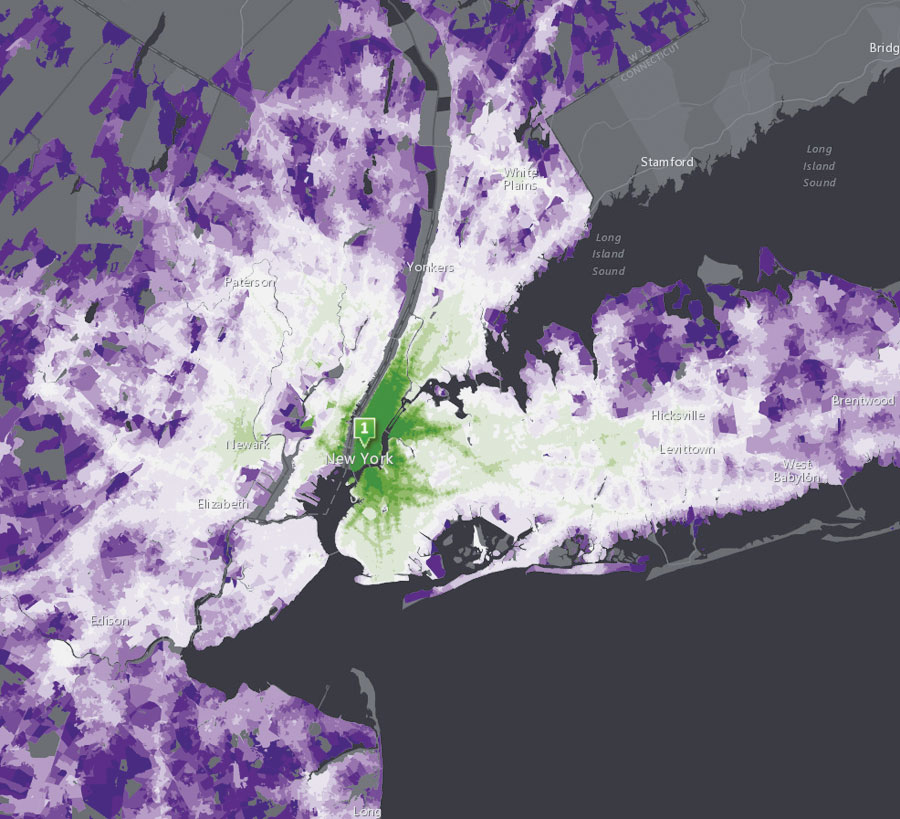 Users have created nearly 10 million stunning maps, apps, and datasets in ArcGIS Online.