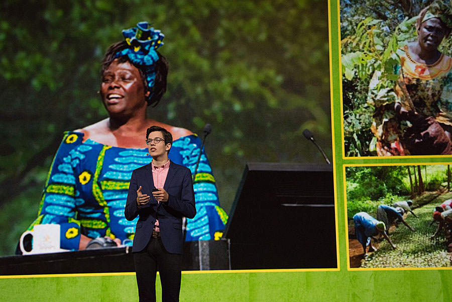 Felix Finkbeiner followed in the steps of Wangari Maathai, who founded the Green Belt Movement.