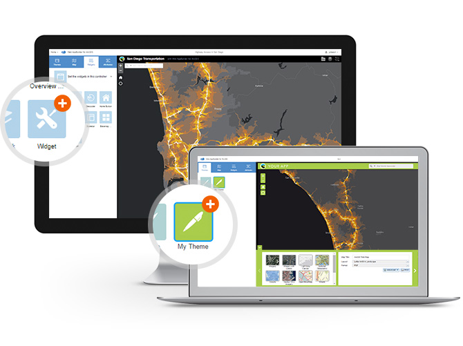 Extend your apps, power your enterprise, and generate revenue with the developer edition of Web AppBuilder for ArcGIS.