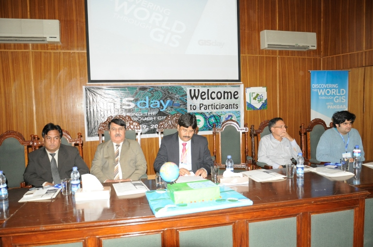 Organizers of the Pakistan Geography and Alumni Association's GIS Day event hoped to stimulate the public's interest in geospatial technology.