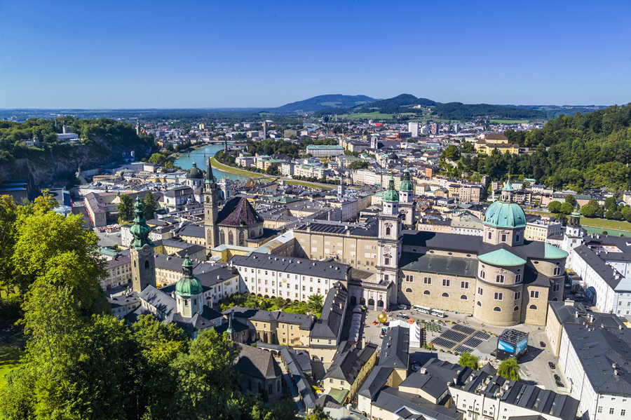 The city of Salzburg, with its Baroque architecture, provides a superb setting for Geodesign Summit Europe.