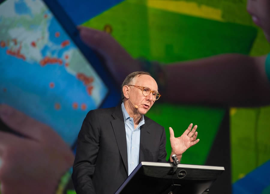 Esri president Jack Dangermond lauds the work you do with GIS.