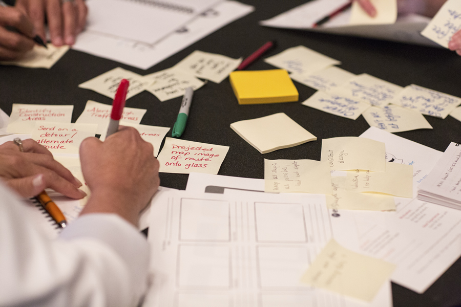 Try out different design ideas at the UX & UI Hub.