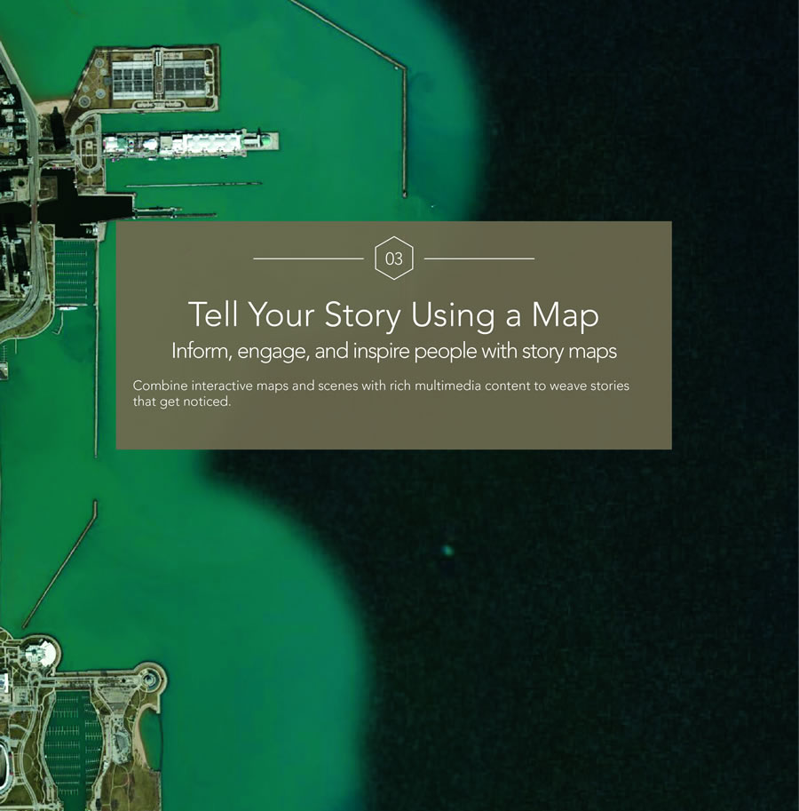 One chapter is devoted to storytelling using story maps.