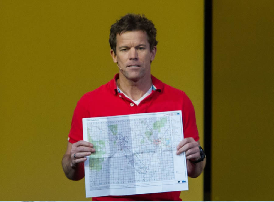 Anthony Burgon says paper maps can be created from eMap.