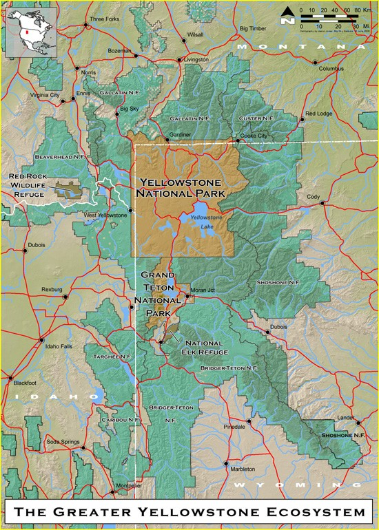 Wyoming is home to Yellowstone National Park, Grand Teton National Park, and other government-managed areas. Government agencies need employees with GIS skills to help manage these lands.
