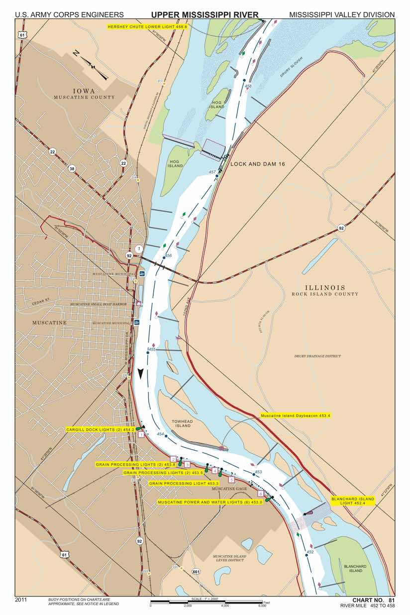 Sensors and Systems Keep Mississippi River Traffic Flowing