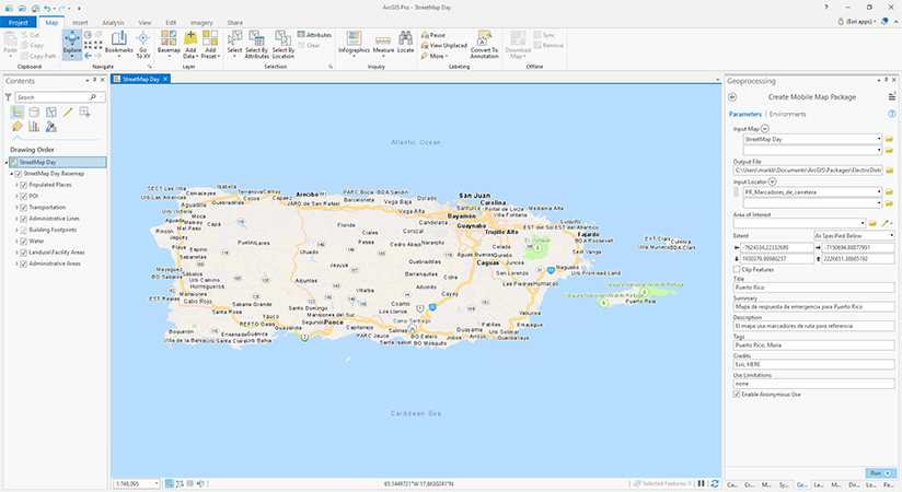 A composite locator for Puerto Rico