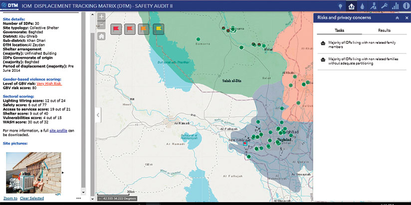 GIS Provides Targeted Assistance to Displaced Persons in Iraq