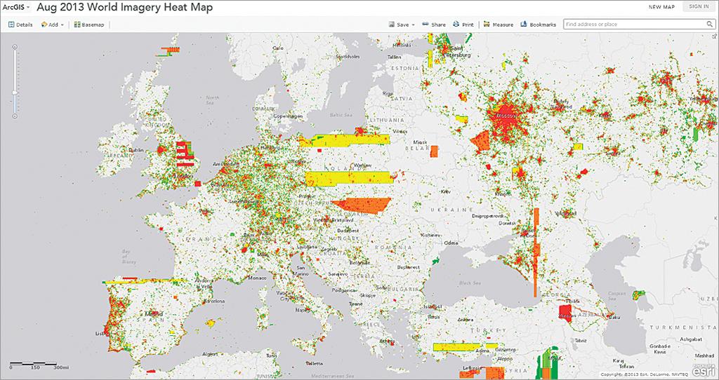 Visualizing ArcGIS Online Log Data